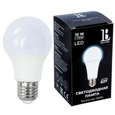 Лампочка светодиодная E27-10W-3000K-A60_lb