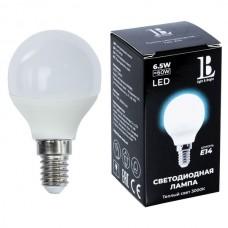 Лампочка светодиодная E14-6,5W-3000К-G45_lb