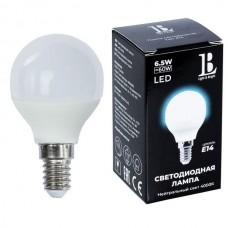 Лампочка светодиодная E14-6,5W-4000К-G45_lb