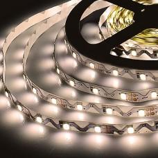 Светодиодная лента 12V 6W IP20 Лента светодиодная гибкая 12V 6W 60 Led S 2835 P20 теплый белый