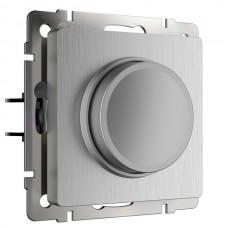 Диммер Встраиваемые механизмы серебряный рифленый W1142009