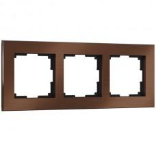 Рамка Aluminium коричневый алюминий W0031714